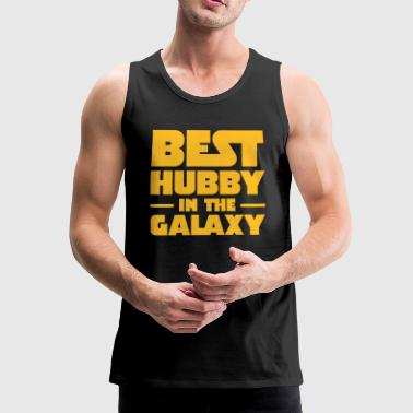 Best Hubby In The Galaxy - Männer Premium Tank Top