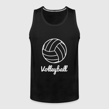 Volleyball Volley ball - Premium singlet for menn