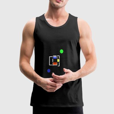 Shapes and colors - Men's Premium Tank Top