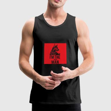 Dog / Doberman: Jeg er The Doberman - Premium singlet for menn