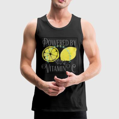 Powered by Vitamin C - Men's Premium Tank Top