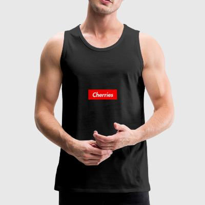 Cherries - Men's Premium Tank Top
