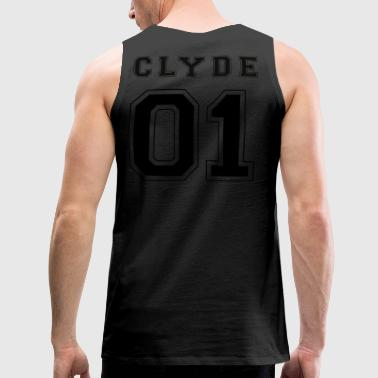 CLYDE 01 - Black Edition - Männer Premium Tank Top