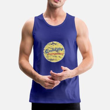 Quality Quality seal: Quality Guaranteed - Men's Premium Tank Top