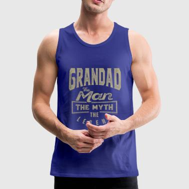 Grandad Grandad The Legend - Men's Premium Tank Top