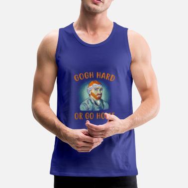 545ab9a6 Funny artist shirt gift - Men's Premium Tank Top