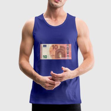 Euro bill / Euro / Euro bill - Men's Premium Tank Top
