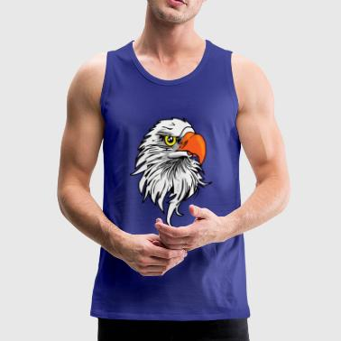eagle comic - Mannen Premium tank top