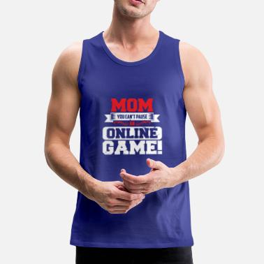 Teenager GAMER SHIRT VOOR SPELERS KIDS TEENAGER IDEA - Mannen Premium tank top