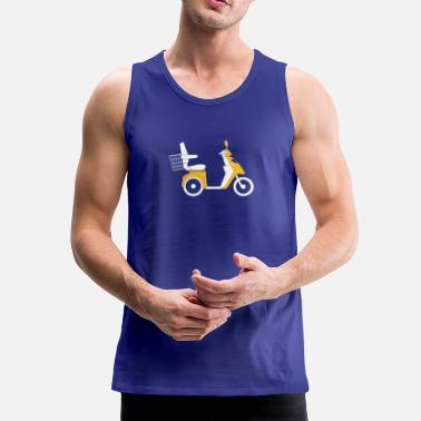 Scooter Scooter - Tank top premium hombre