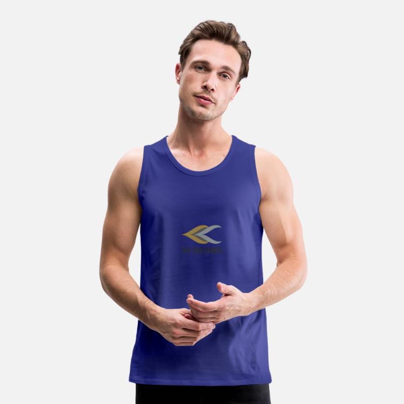 a006286e80deb Alex Tank Tops - YouTube logo - Men s Premium Tank Top royal blue