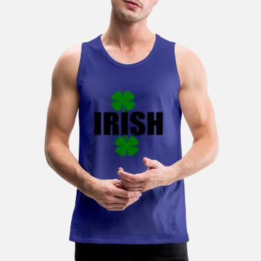 Irish clover - Men's Premium Tank Top