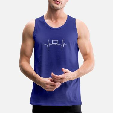 Television Television Heartbeat Gift - Männer Premium Tanktop