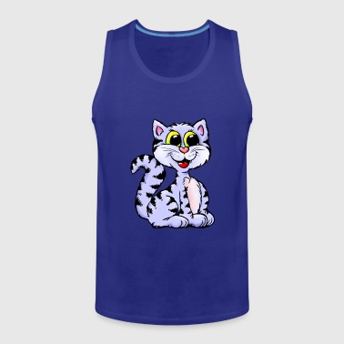 cat3 - Men's Premium Tank Top