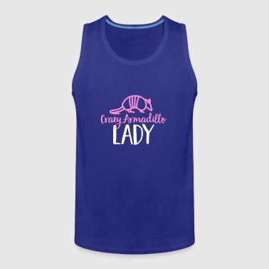 Camiseta Crazy Armadillo Lady - Cute Armor Shell - Tank top premium hombre
