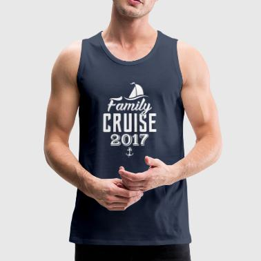 Family Cruise 2017 - Men's Premium Tank Top