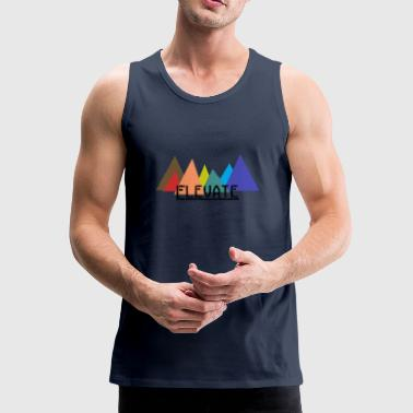 Elevated to the Mountains - Men's Premium Tank Top