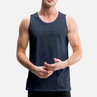 Horseshoe Horseshoe - Men's Premium Tank Top