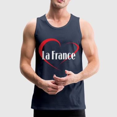 I Love La France - Männer Premium Tank Top