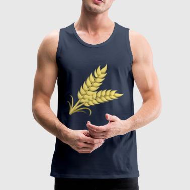 wheat - Men's Premium Tank Top
