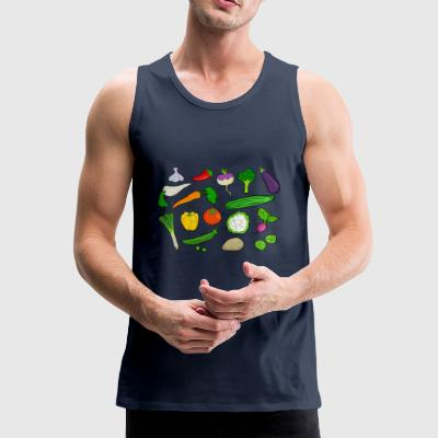 vegetables - Men's Premium Tank Top