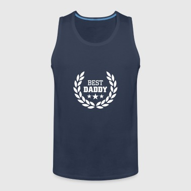 Best Daddy T-skjorter - Premium singlet for menn