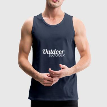 Outdoor Blogger - Männer Premium Tank Top