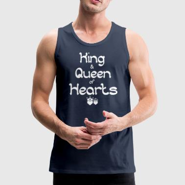 King and Queen of Hearts 2 - Men's Premium Tank Top