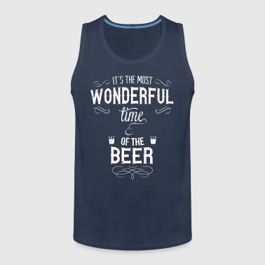most_wonderful_time_of_beer_w - Männer Premium Tank Top