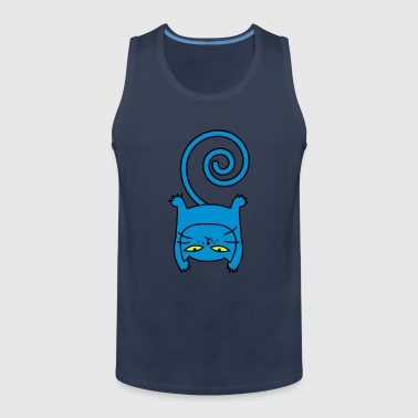 Sporty cat - Men's Premium Tank Top