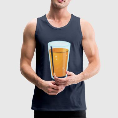 juice glass - Premium singlet for menn