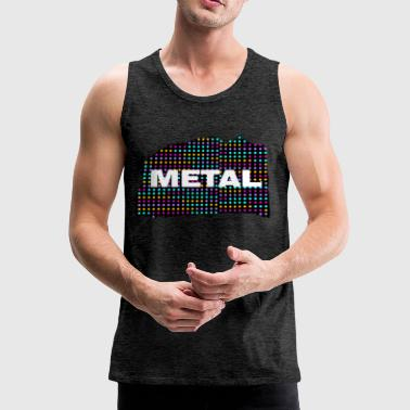 metal - Premium singlet for menn
