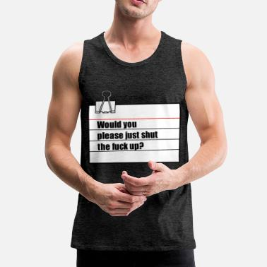 Note Clue note - Men's Premium Tank Top
