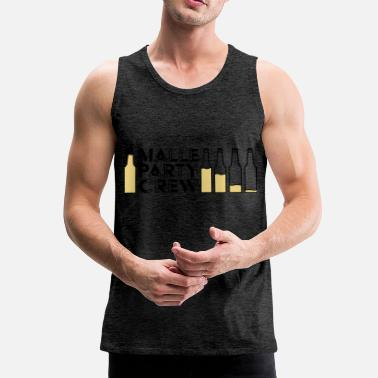 Malle Party Creqw - Mannen Premium tank top
