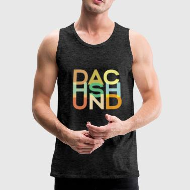Dachshund Dog Owners - Men's Premium Tank Top