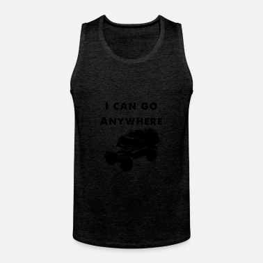 Off i can go anywhere - Männer Premium Tank Top