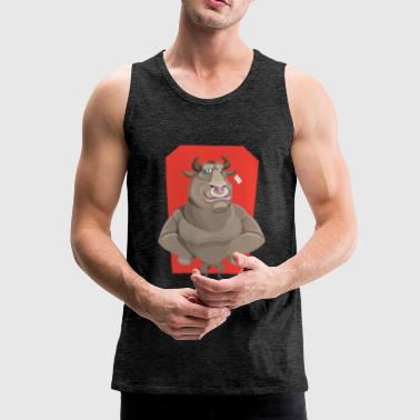 SWAGG BULL - Men's Premium Tank Top