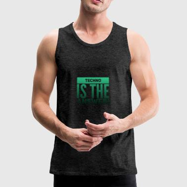 TECHNO - Premium singlet for menn