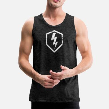 Officialbrands WoT - Blitz Classy - Men's Premium Tank Top