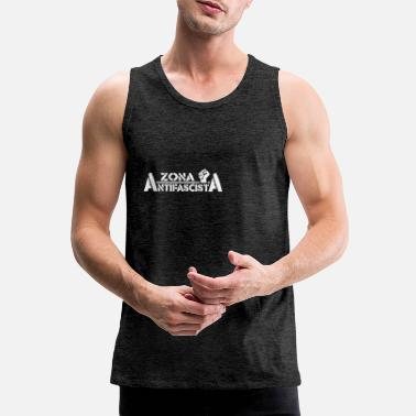 Antifascist Antifascist Zone - Men's Premium Tank Top