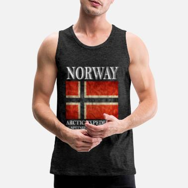 Norvège Norvège, Norvège, Norvège - Débardeur premium Homme