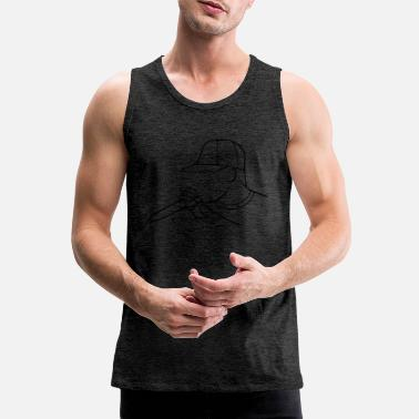 Rapper rapper - Men's Premium Tank Top