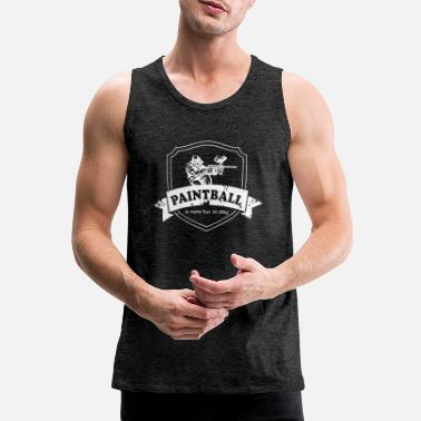 Paintball Paintball - Men's Premium Tank Top