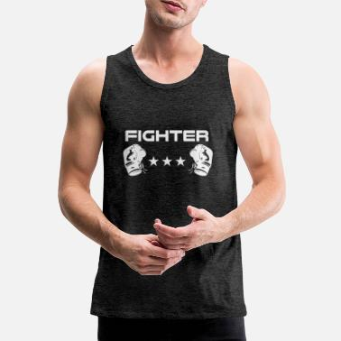 Fighter Fighter boxer fighter - Men's Premium Tank Top
