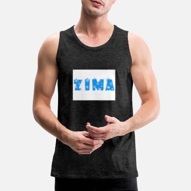Winter winter - Men's Premium Tank Top