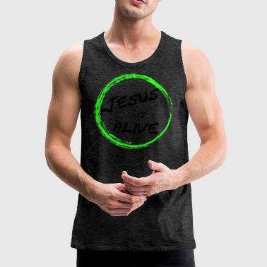 Jesus is alive - Men's Premium Tank Top