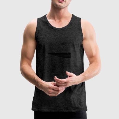 Eagle wing lung - Men's Premium Tank Top