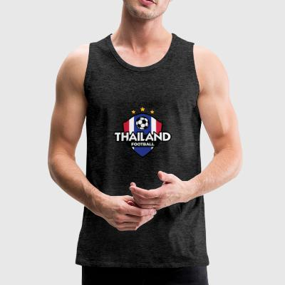 Football Logo Of Thailand - Men's Premium Tank Top