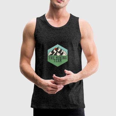 Bergbau: The Mining Team - Männer Premium Tank Top
