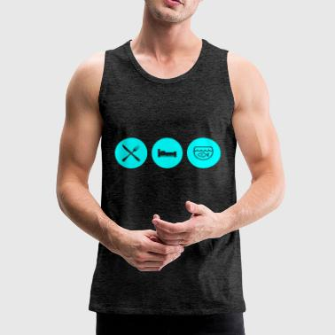 daily routine - Men's Premium Tank Top